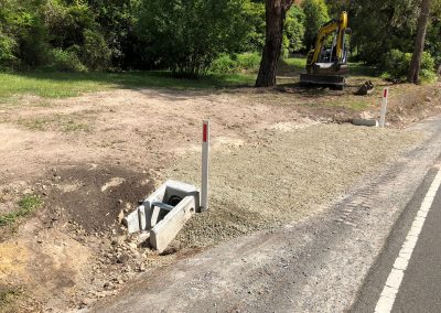 Driveway Crossover construction