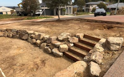 How to Move Landscape Boulders And Rocks Melbourne