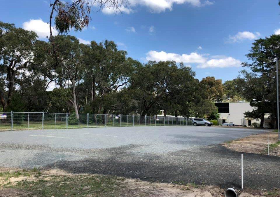 Car Park Construction Yarra Ranges Lilydale